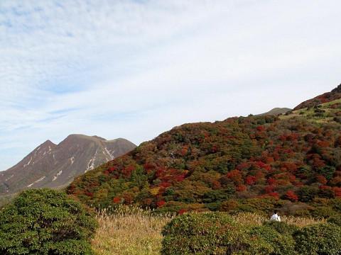 牧ノ戸峠の紅葉 2009.10.23撮影