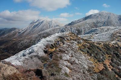沓掛山付近冬
