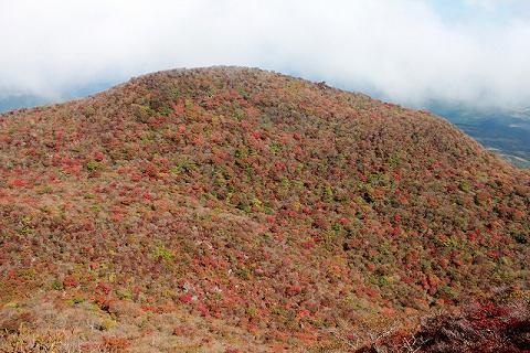 黒岳・天狗岩から北東方面を望む 2013.10.22