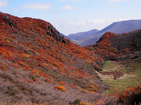 三俣山小鍋周辺2013.10.27