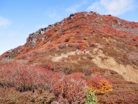 三俣山大鍋周辺2013.10.27