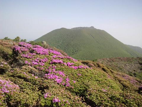 平治岳山頂2014.5.28