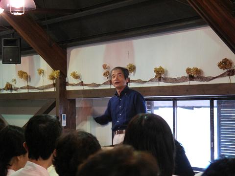 佐藤眞先生2014.8.30