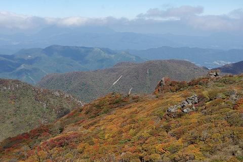 大船山山頂付近2014.10.15