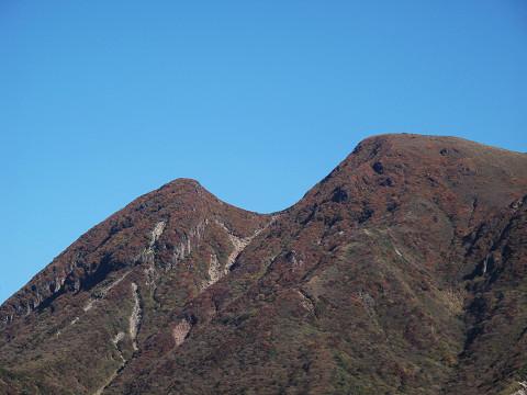 三俣山紅葉2011.10.18