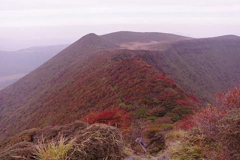 大船山より段原 2015.10.11