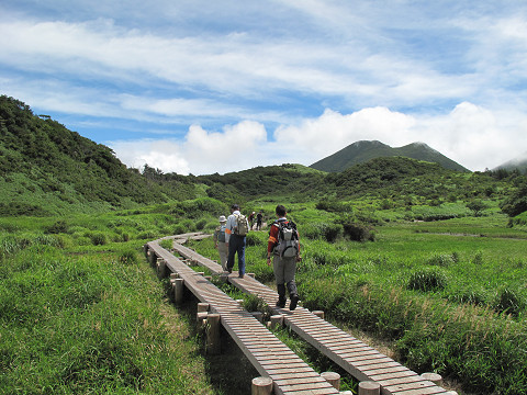 点検登山2012.8.24