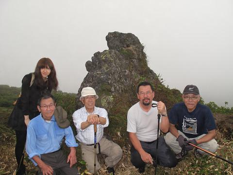 白石先生追悼登山2012.9.2