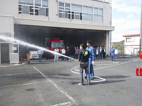 防火訓練2012-2