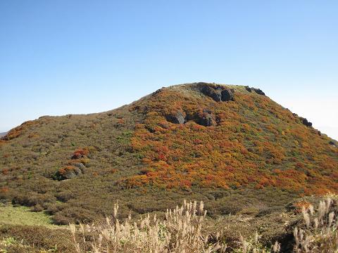 三俣山南峰2012.10.15